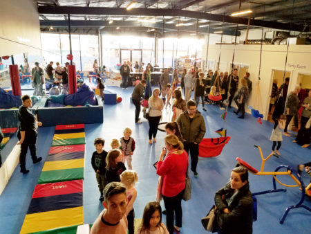Sensory Gym In Australia Packed fo grand opening