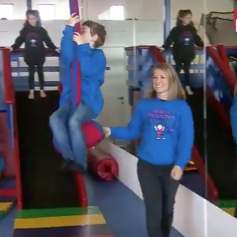 Australia's first purpose-built gym for autistic children 9 News