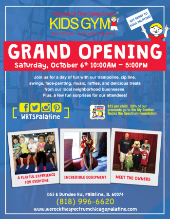 WRTS Chicago Palatine Grand Opening Flyer