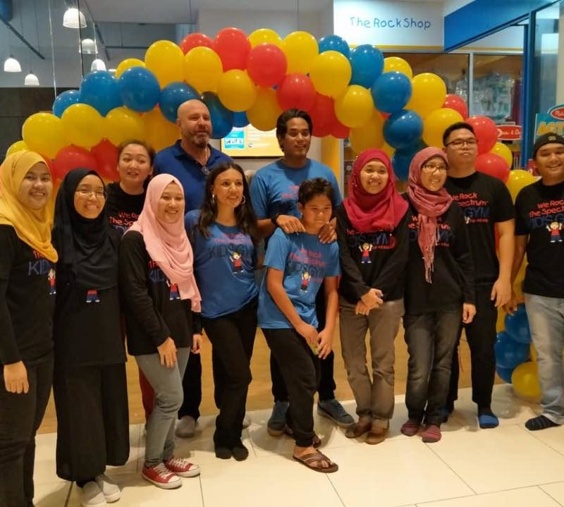 We Rock the Spectrum Melawati Mall Grand Opening