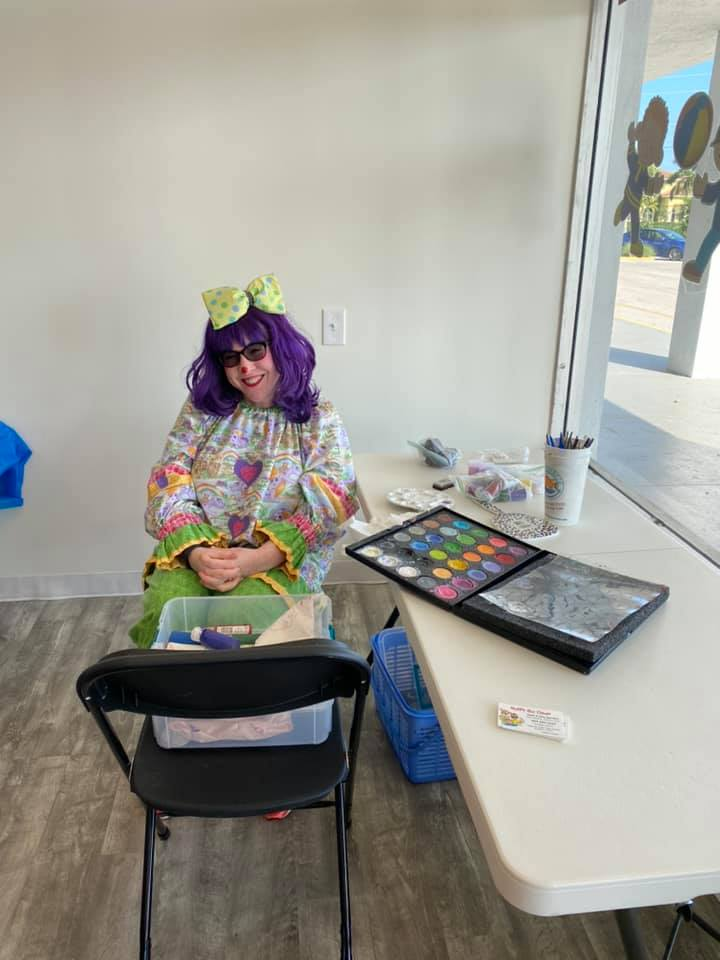 WRTS Port St. Lucie Grand Opening Face Painter