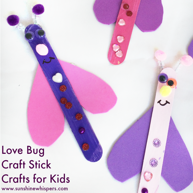 Love Bug Valentine's Day Craft