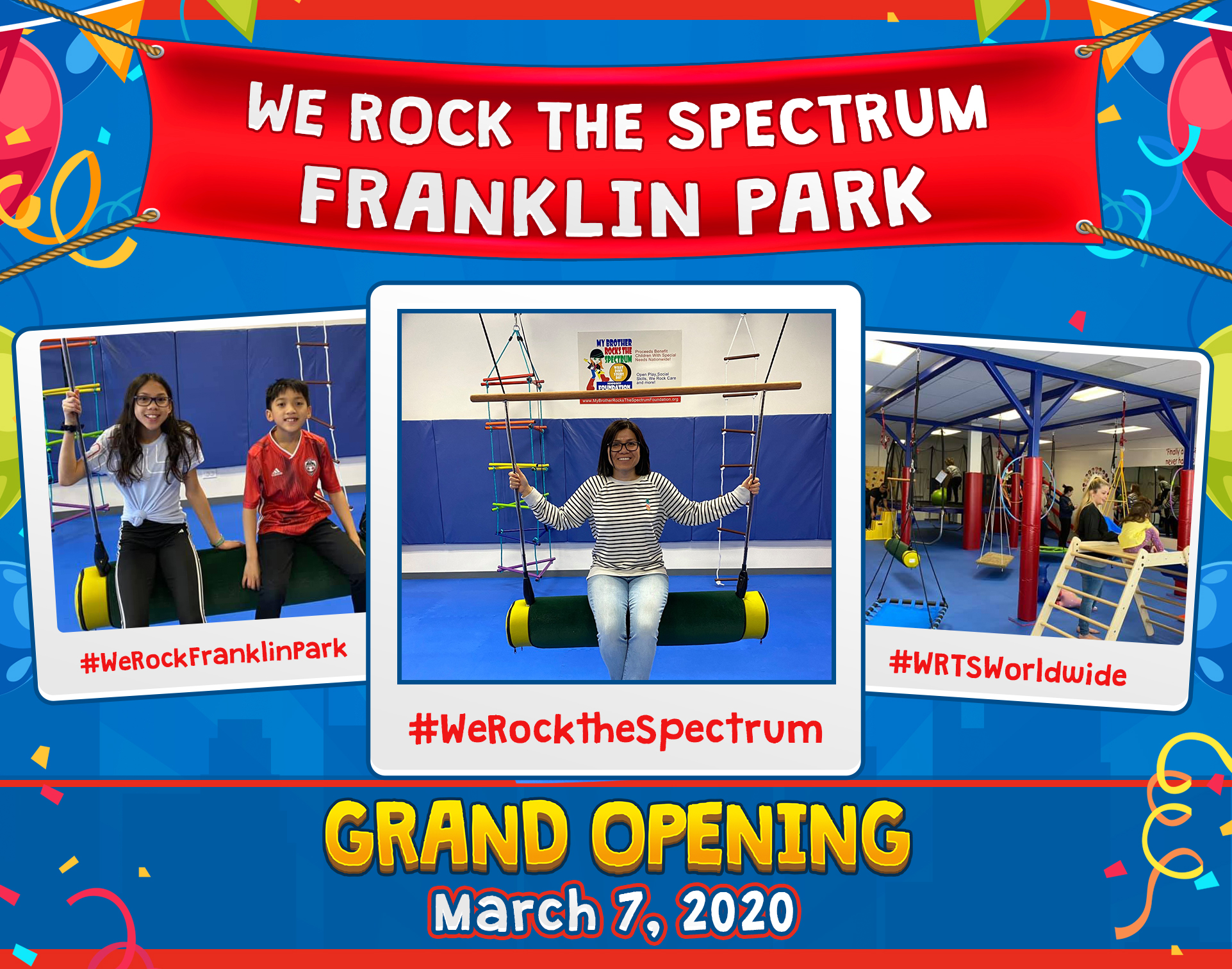 We Rock the Spectrum Franklin Park Grand Opening
