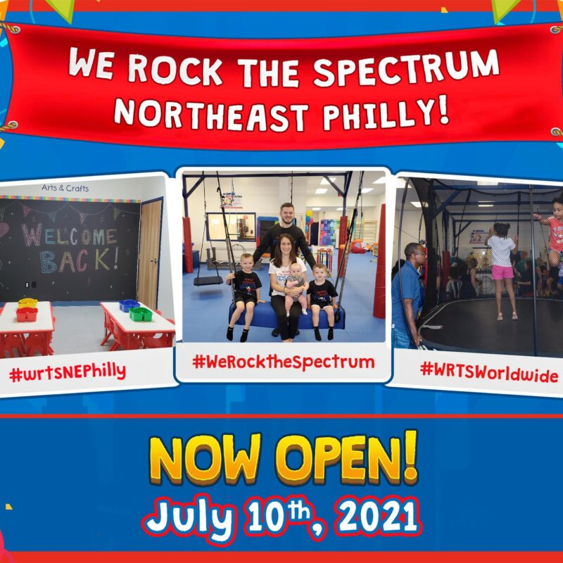 Graphic for WRTS NE Philly Re-Opening